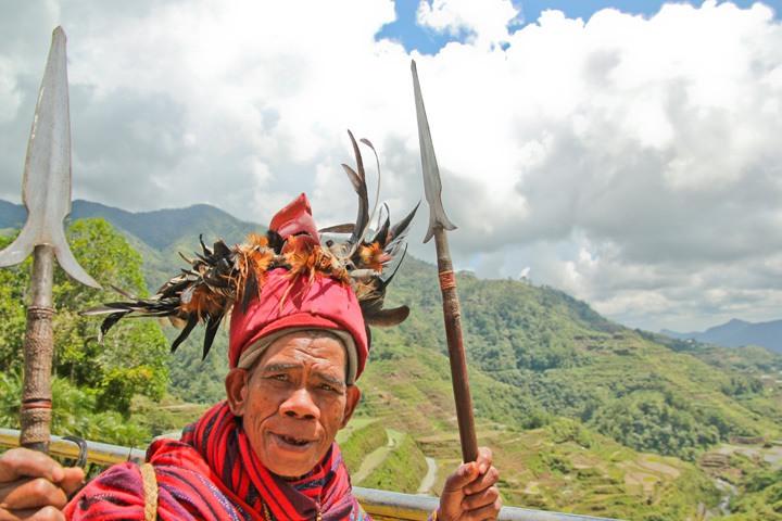 Portrait of Man in Banaue