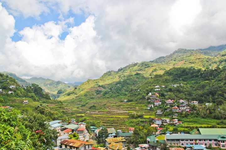 Town of Banaue, Philippines
