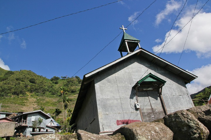 Church in Batad, Philippines