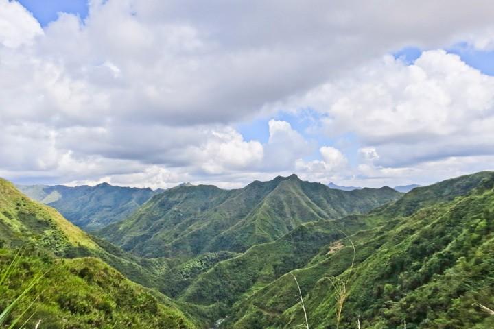 Hiking in Batad, Philippines