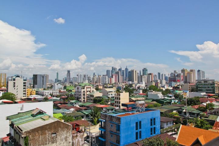 Pink Hostel Manila View