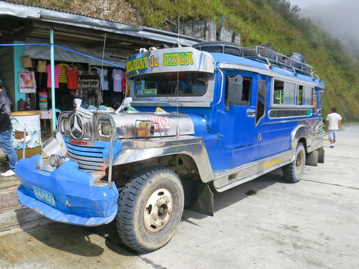 Traveling from Banaue to Sagada