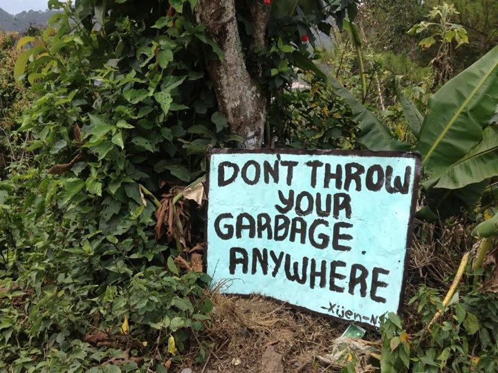 Funny sign in Sagada, Philippines