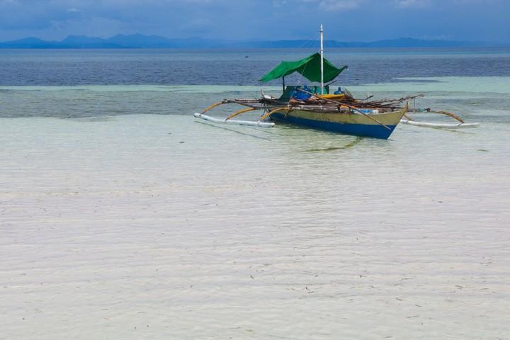 Bangka on Malapascua