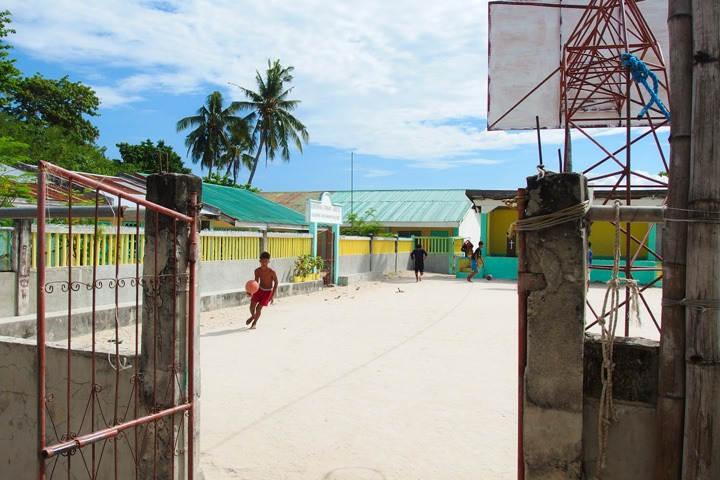 Basketball Court on Malapascua