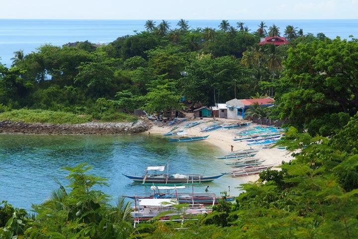 Bay on Malapascua