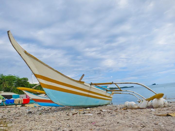Bangkas on Malapascua