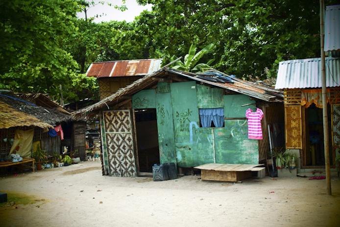 Huts on Malapascua