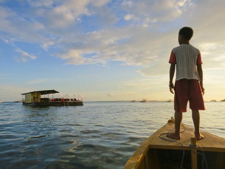 Floating Bar, Malapascua, Philippines