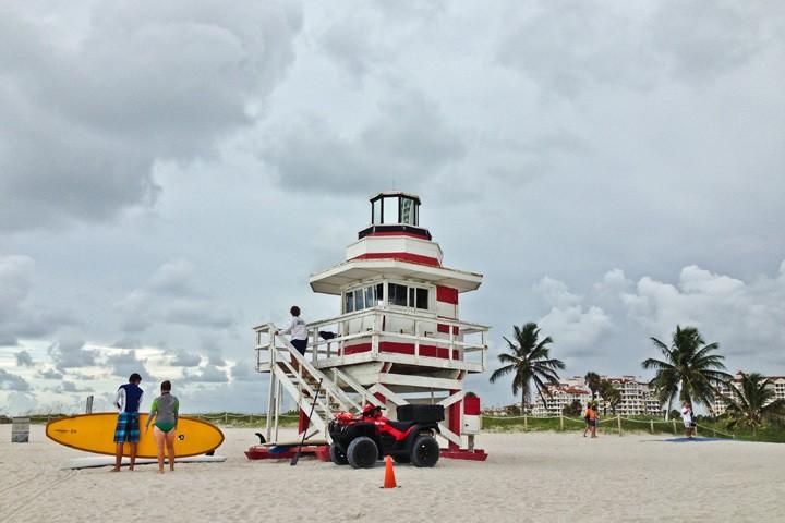 Miami Beach Lifeguard Stand
