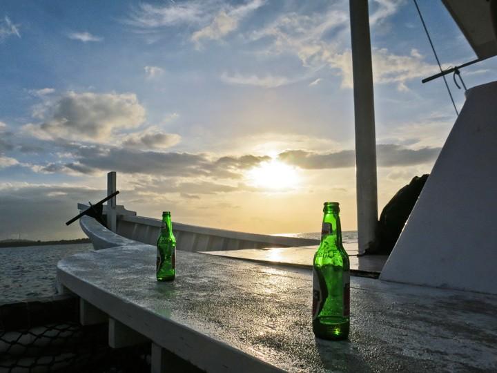 Alcohol on Gili Trawangan
