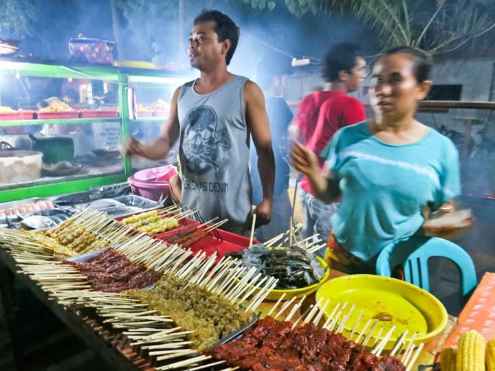Food on Gili Trawangan