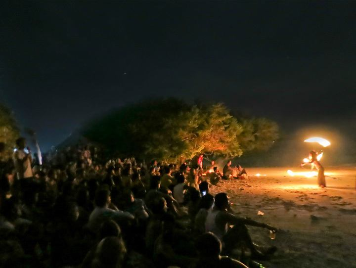Nightlife on Gili Trawangan
