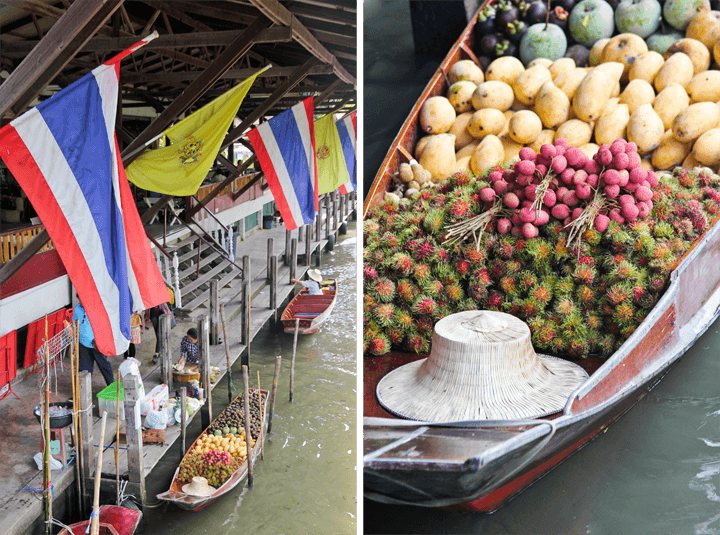 Damnoen Saduak Floating Markets