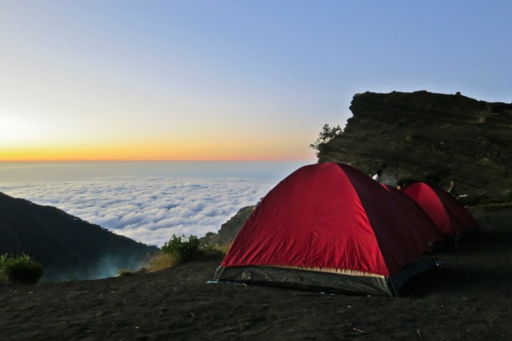 Mount Rinjani Summit