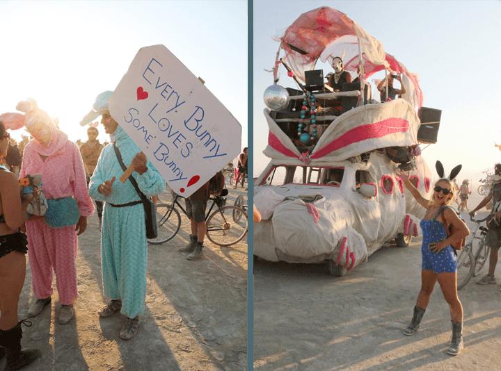 Burning Man Bunny Parade