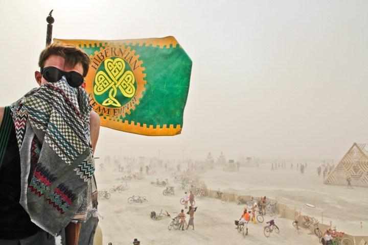 Burning Man Whiteout