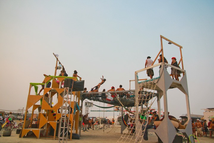 Burning Man Playground