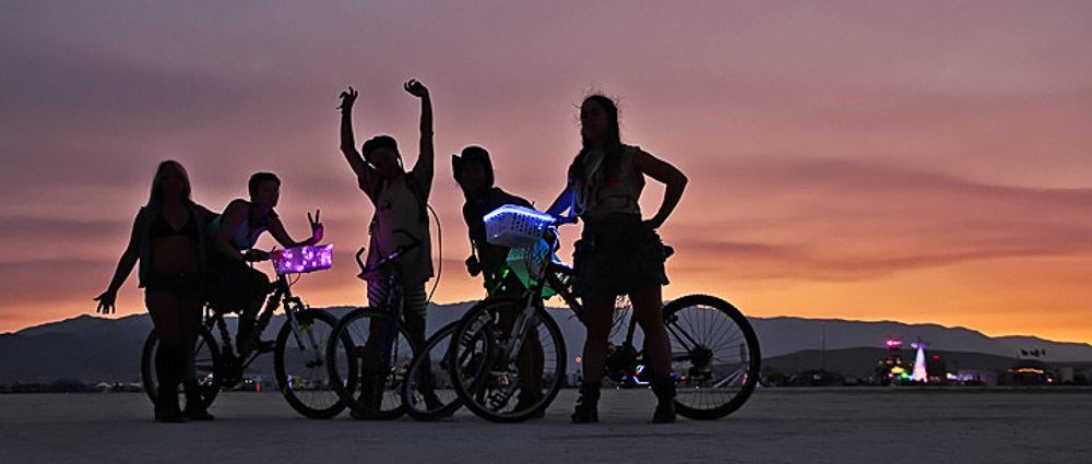 Photo Essay: Burning Man By Night thumbnail