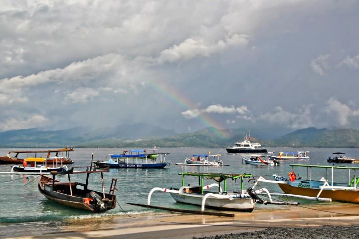 Gili Trawangan Rainbow