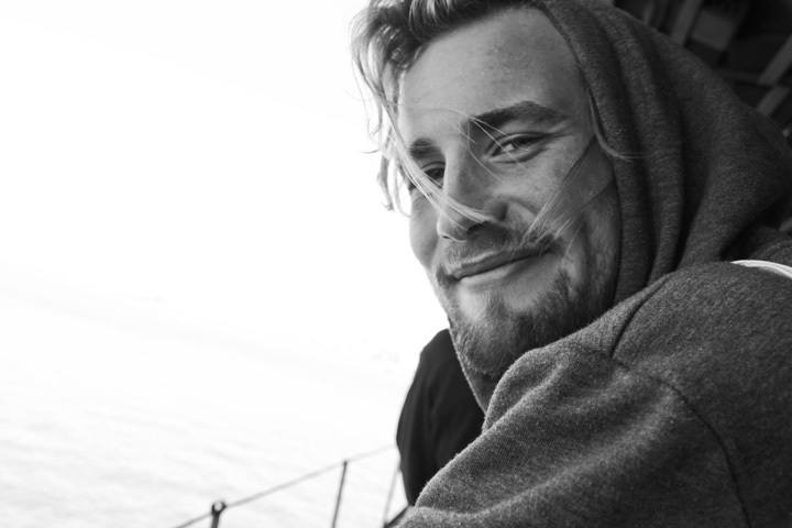 Portrait on Staten Island Ferry