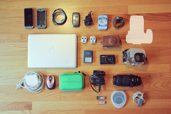Electronics Packing List