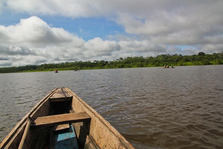 Amazon Dugout Canoe