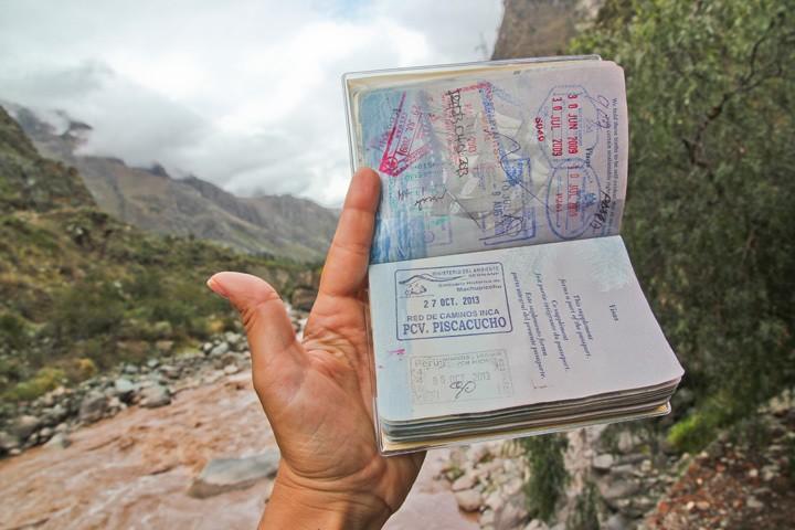 Inca Trail Passport Stamp