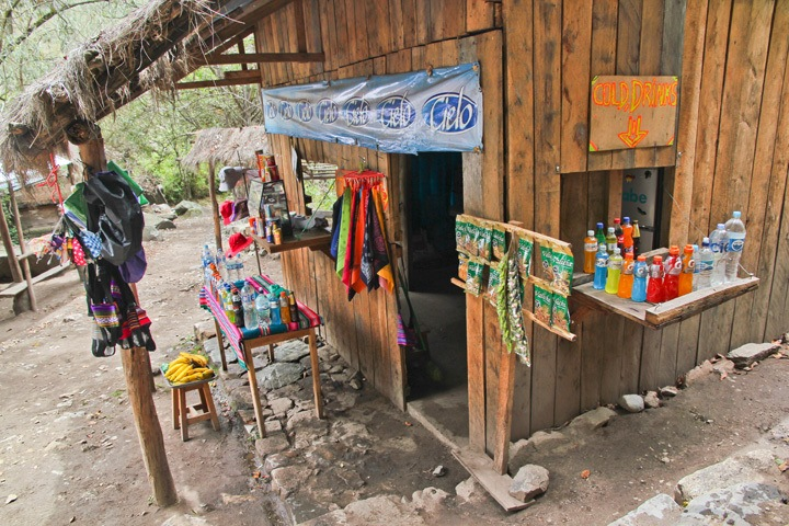 Snack Shack on the Inca Trail