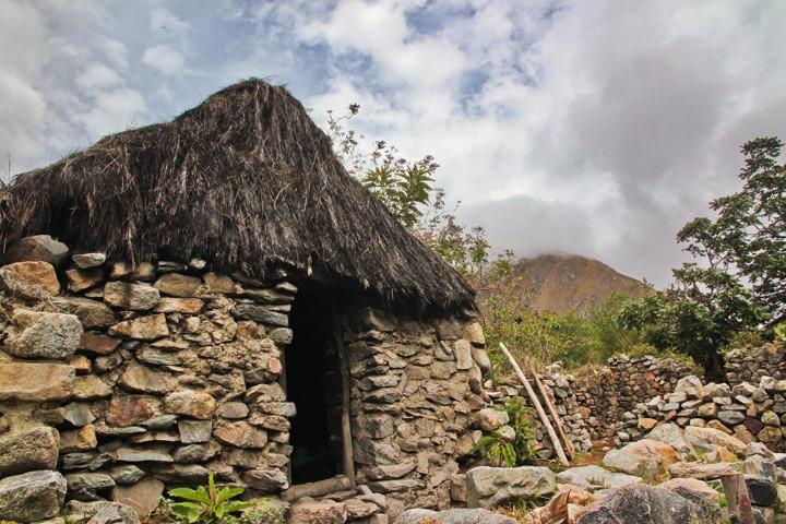 Hut on the Inca Trail