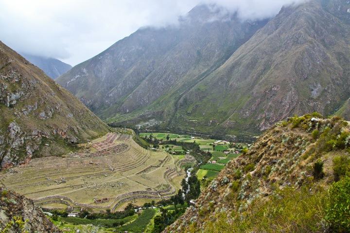 Inca Site on the Inca Trail