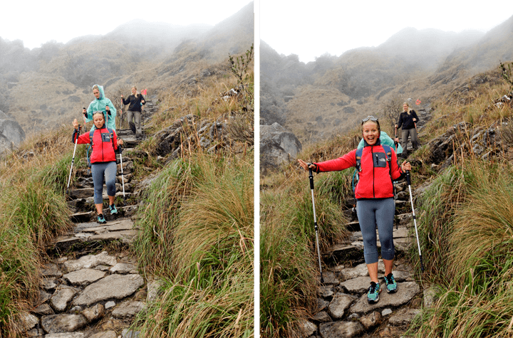 Dead Woman's Pass on the Inca Trail