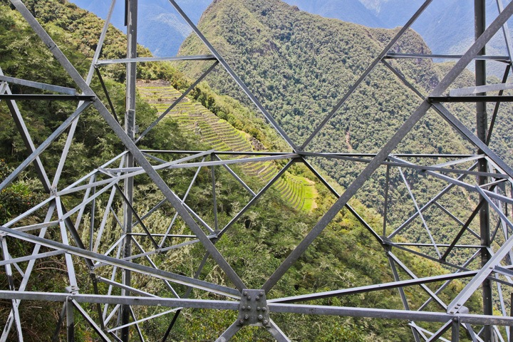 Cell Phone Tower along the Inca Trail