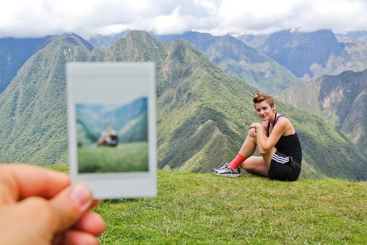 Polaroids from the Inca Trail