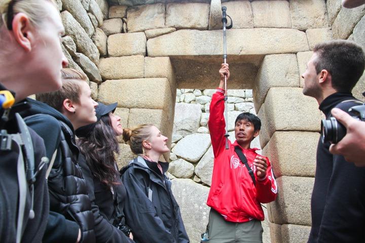 Tour of Machu Picchu, Peru