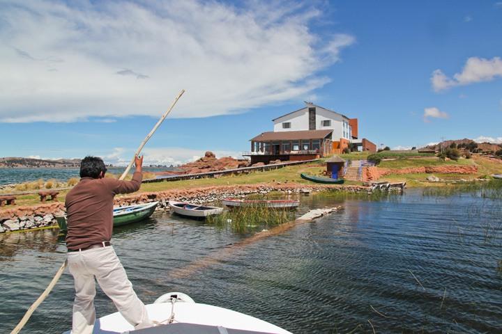 Hotel Titilaka, Lake Titicaca, Peru
