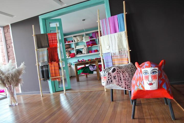 Gift Shop, Hotel Titilaka, Lake Titicaca, Peru