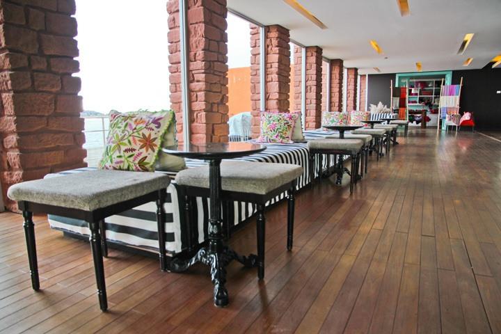 The Bar, Hotel Titilaka, Lake Titicaca, Peru
