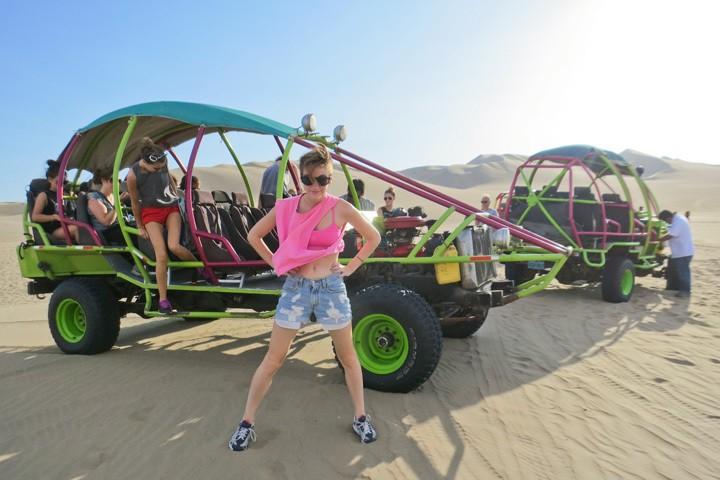 Peru Dune Buggying