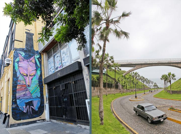 Lima, Peru Graffiti