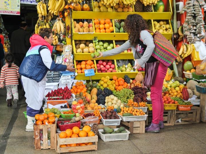 Mercado Uno Surquillo, Lima, Peru