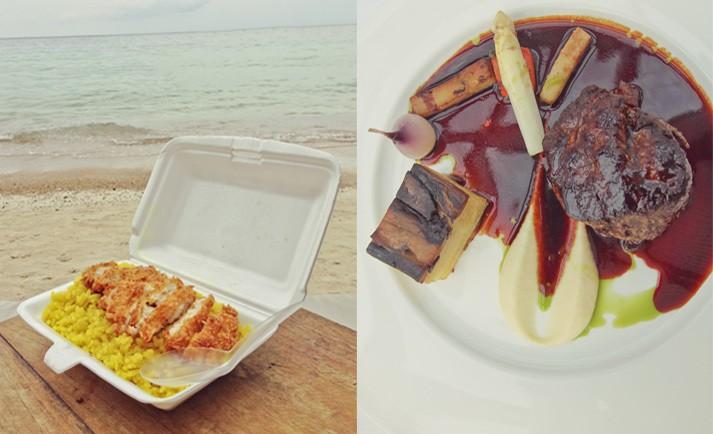 Budget vs. Luxury Meals
