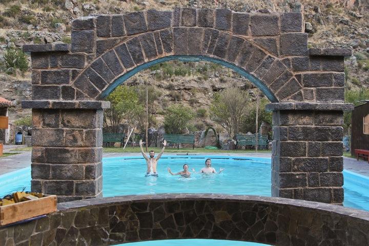 Chivay Hot Springs, Peru