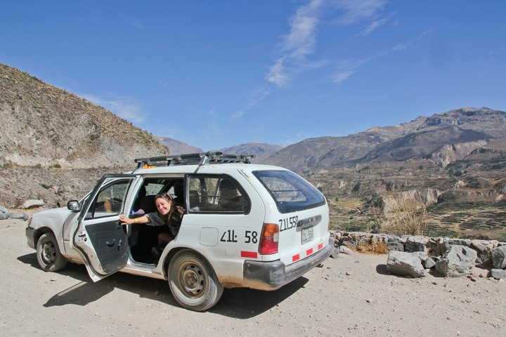 Taxi from Chivay to Cabonaconde