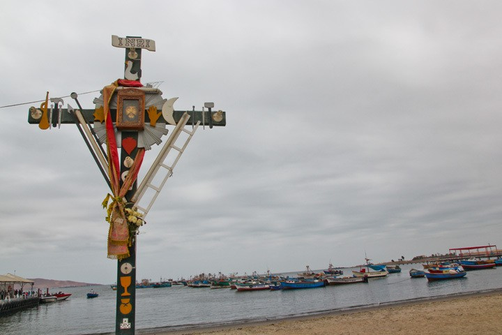 The Pier in Paracas, Peru