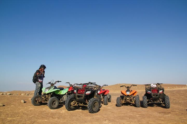 ATV Riding in Paracas
