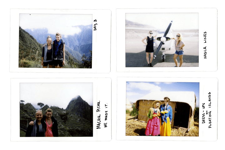 Peru by Polaroid