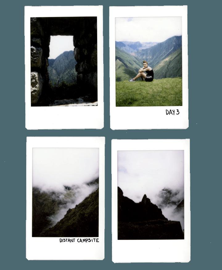 Inca Trail by Polaroid
