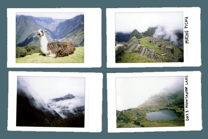 The Inca Trail by Polaroid