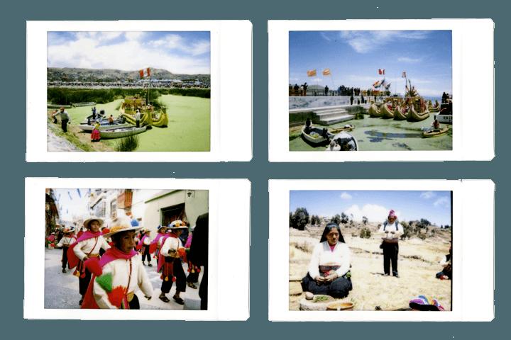 Lake Titicaca by Polaroid